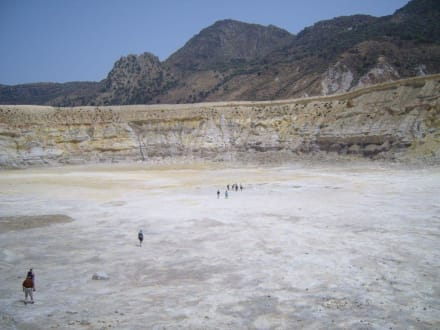 Krater - Vulkankrater auf Nisyros