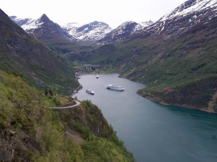 Die Blu im Geiranger-Fjord - Pacific Jewel