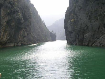 Green Canyon Ausflug - Oymapinar Baraji/ Stausee Green Lake & Green Canyon