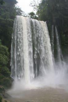 Wasserfall Misol Ha - Misol Ha Wasserfall