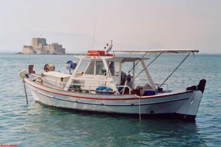 Nafplio,die kleine Insel Bourtzi - Inselfestung Bourtzi