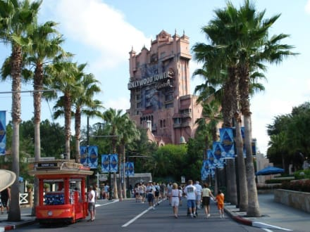 Hollywood Tower - Disney's Hollywood Studios ex Disney MGM Studios