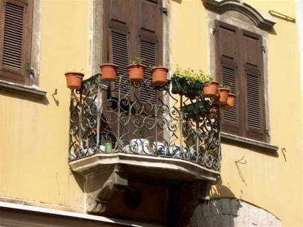 Balkon - Altstadt Riva del Garda