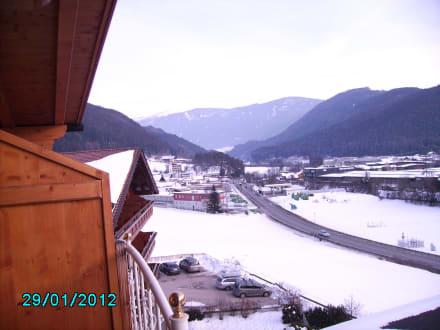 Super Aussicht vom Balkon - Hotel Kronblick