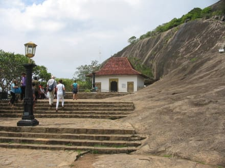 Tempeleingang - Höhlentempel Dambulla