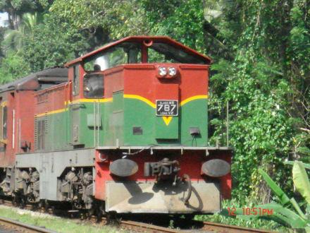 Sri lanka binnenland