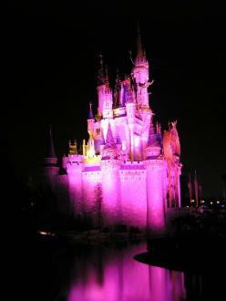 Cinderellas Castle bei Nacht - Disney World - Magic Kingdom