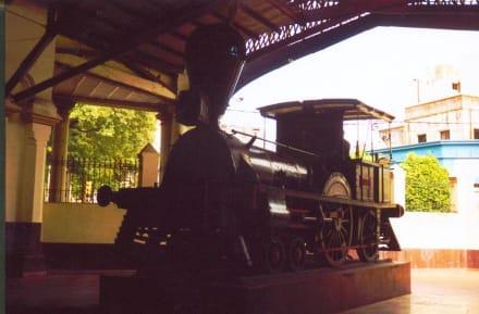 Die älteste Lok Paraguays - Eisenbahnmuseum