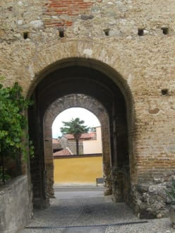 Historic sites (castle, palace, ruins, etc.) - Castle Moniga del Garda