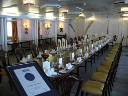 Bankettsaal - Royal Yacht Britannia