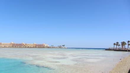 Blick auf das Riff - Bel Air Azur Resort