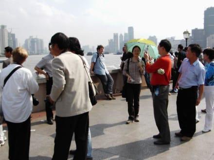 Shanghai - Uferstraße Bund Shanghai