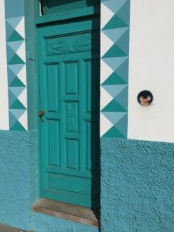 Hübscher Türeingang im Städtchen - Altstadt Puerto de la Cruz
