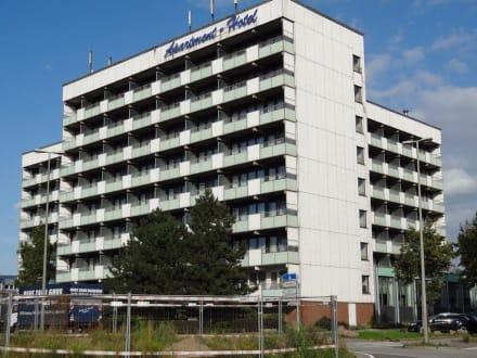 Hotelansicht bild apartment hotel hamburg mitte in for Appart hotel hambourg