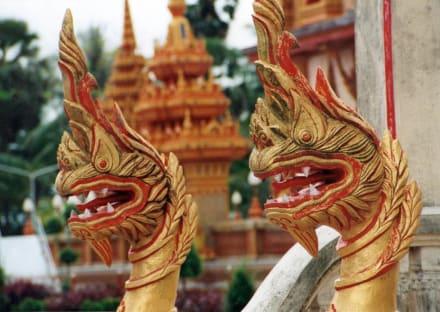 Thailand Phuket Wat Chalong Tempeldrachen - Wat Chalong