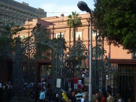 Außenansicht - Ägyptisches Nationalmuseum