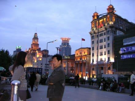 Abendstimmung am Bund - Uferstraße Bund Shanghai