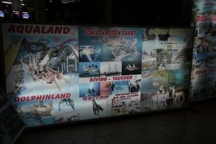 Reklame vom Reisebüro Schöner Reisen - Schöner Reisen