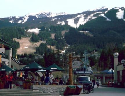 Blackcomb Gondola - Zentrum Whistler
