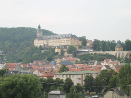 Blick auf die Heidecksburg - Heidecksburg
