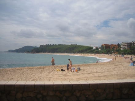 Strand von Fanals - Strand Fenals Lloret de Mar