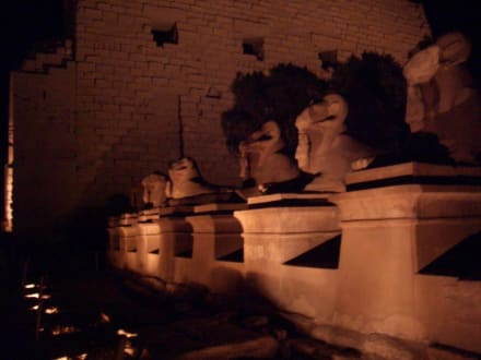 Lichtshow Karnak Tempel - Amonstempel Karnak