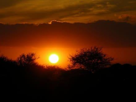 Sonnenuntergang - Kimana Reservat