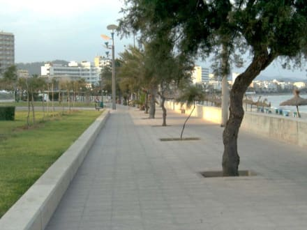 Strandpromenade von Cala Millor - Strandpromenade Cala Millor