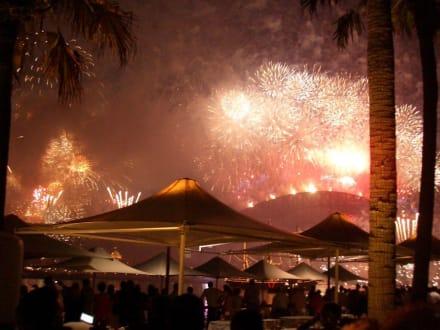 Feuerwerk - Feuerwerk zum Jahreswechsel