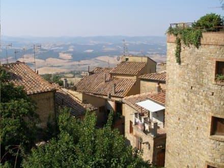 Wunderschöner Ausblick - Altstadt Volterra