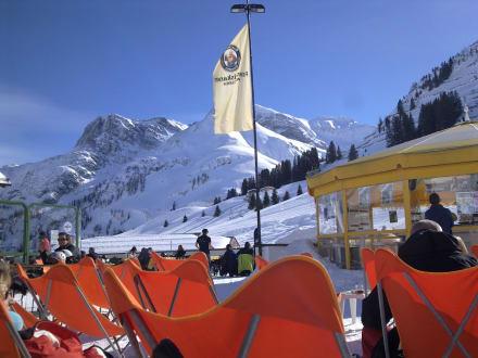 Skifahren in Warth - Sporthotel Steffisalp