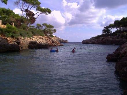 Ebenfalls die Bucht Cala Egos - Caló de ses Egos