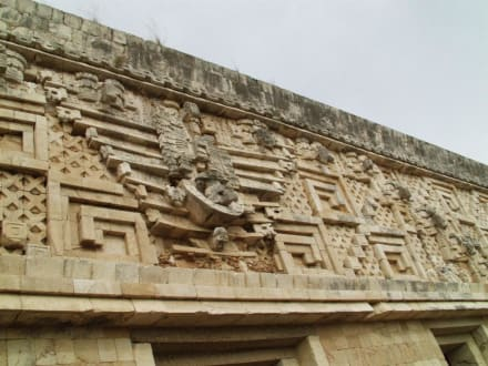 Mexiko, Uxmal - Ausgrabung Uxmal