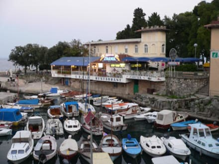 Der Hafen von Lovran - Hafen Lovran