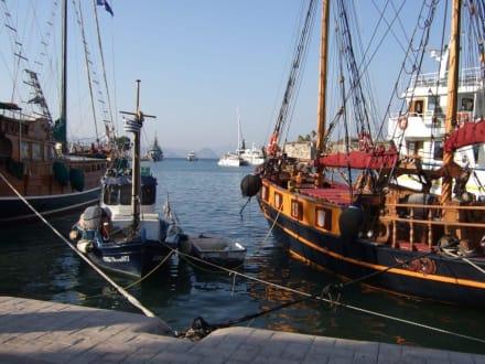 Hafen von Kos - Hafen Kos Stadt