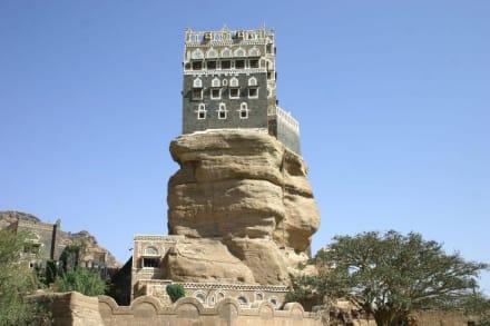Sultanspalast im Wadi Dar - Wadi Dhar - Dar al Hadschar