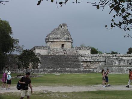 Das Observatorium in Chichén Itzá - Ruine Chichén Itzá