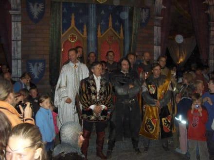 Die Ritter im Schloß - Kaltenberger Ritterturnier