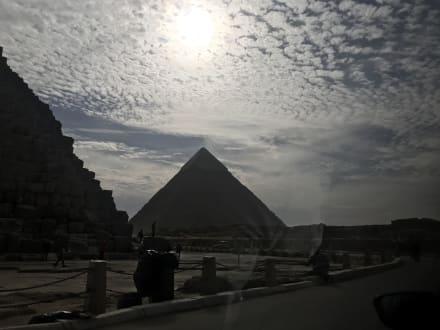 Ausblick - Pyramiden von Gizeh