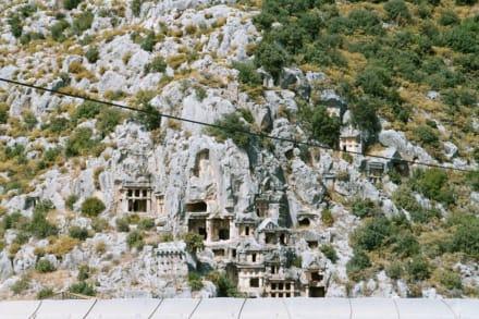 Auf den Spuren der Lykier - Felsengräber von Myra