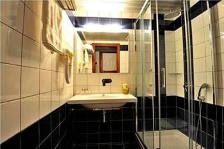 WC with shower cabine -