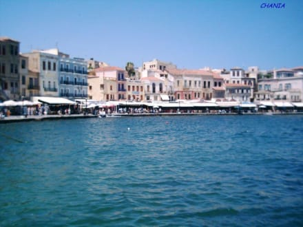 Chania - Hafenpromenade - Hafen Chania