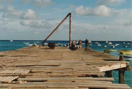 Pier von Santa Maria - Fischereihafen Santa Maria
