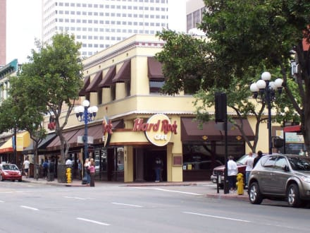 Hard Rock Café in San Diego´s Gaslamp Quarter - Hard Rock Café San Diego