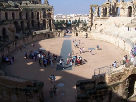 Amphittheater von El Djem - Amphitheater