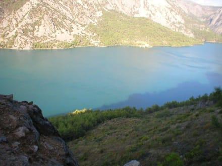 Stausee - Oymapinar Baraji/ Stausee Green Lake & Green Canyon