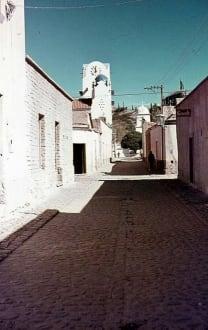 Dorfstrasse von Humahuaca - Bergdorf Humahuaca