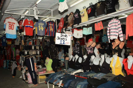 Shoppen in Side-Kumköy - Einkaufen & Shopping