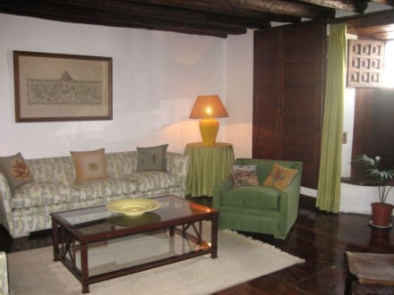 Der grüne Salon - Palacio de Spínola