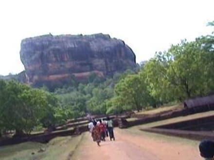 Sri Lanka - Sigiriya - Sigiriya Felsen
